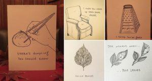 Merrily Grashin Greeting Cards Witty Puns