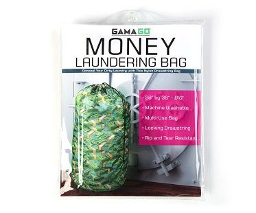 Money Stacks Laundry Bag pack