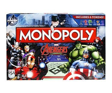 Monopoly Avengers Edition box