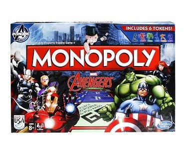 Monopoly Avengers Edition box