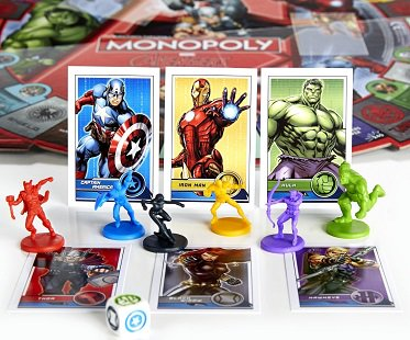 Monopoly Avengers Edition game
