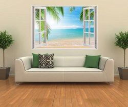 Paradise Beach Wall Sticker