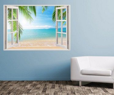 Paradise Beach Wall Sticker decal