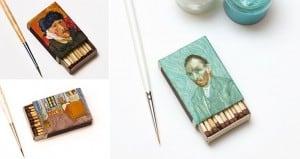 Salavat Fidai Van Gogh Matchboxes Art