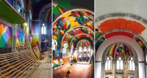 Spanish Church Colorful Skate Park