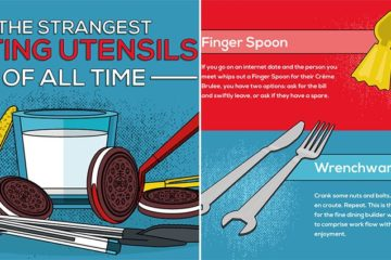 Strange Eating Utensils