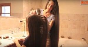 Tere Lynn Svetlecich Russell Family Long Hair