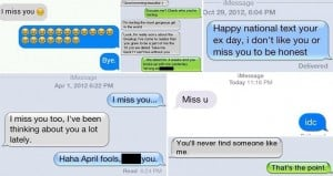 Text Responses To An Ex