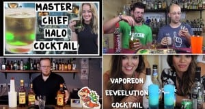 Video Game-Inspired Cocktails Nerd