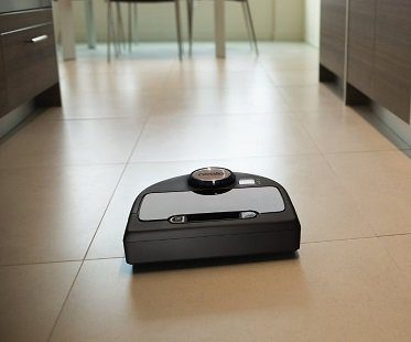Wi-Fi Enabled Robot Vacuum kitchen