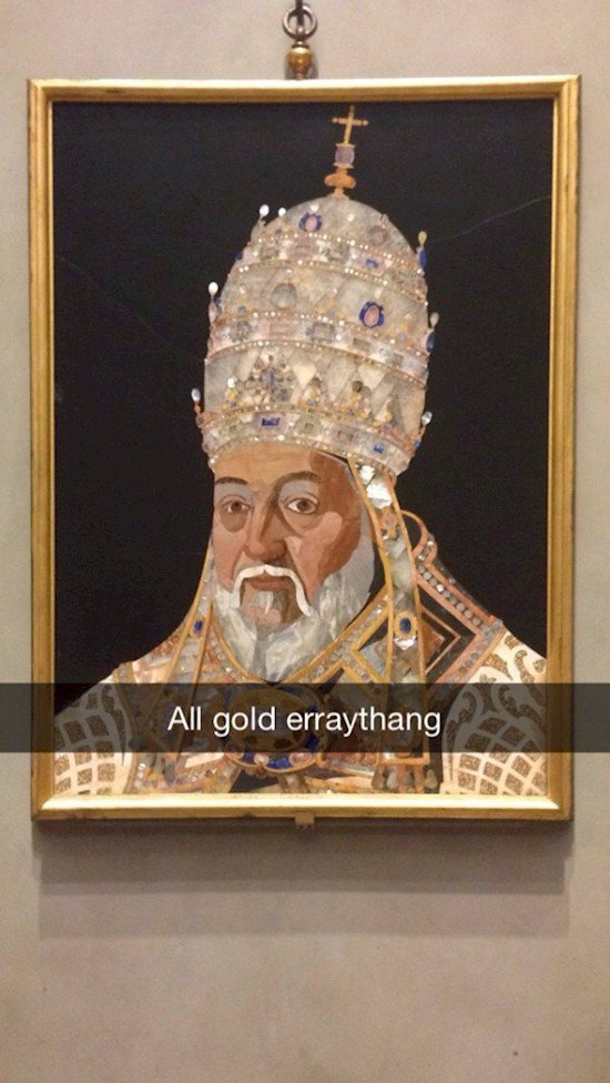 all pope gold