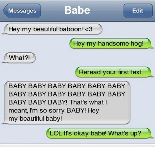 baby baby text