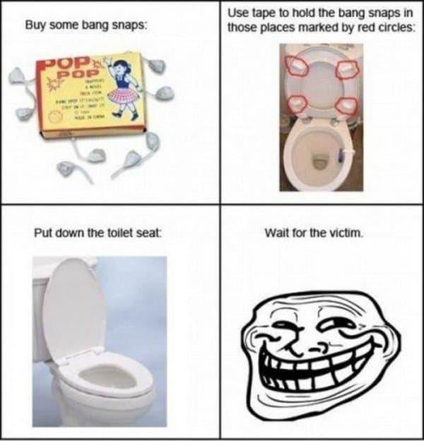 bang snaps toilet