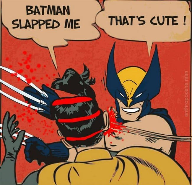 batman slap