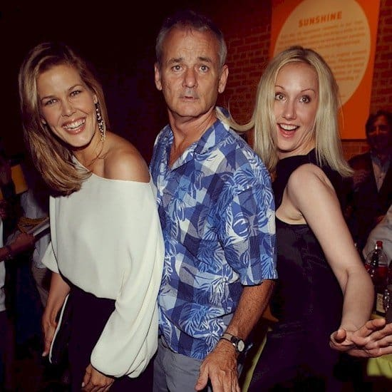 bill murray and girls