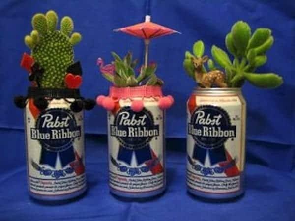 bottles-flower-pot