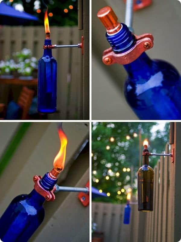 bottles-tiki-torch