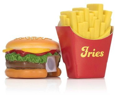 burger sharpener and fries eraser