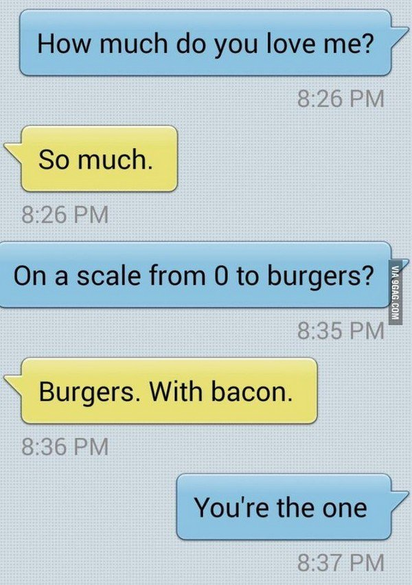 burgers with bacon