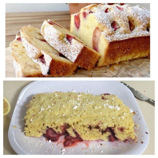 cake baking fail