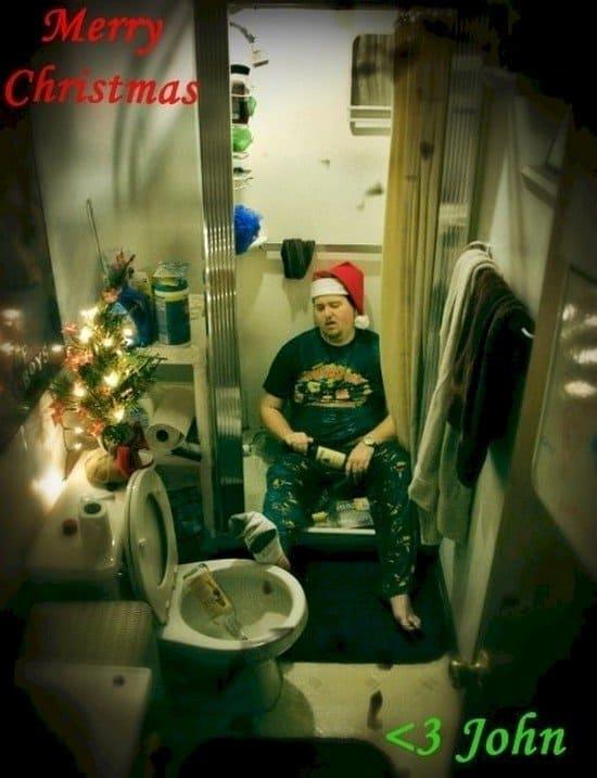christmas guy bathroom