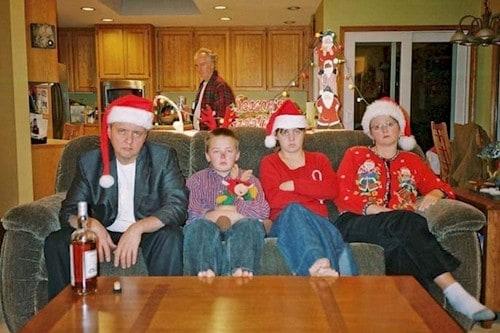 christmas photo reality