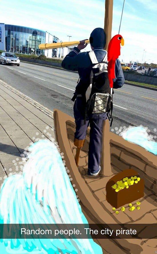 city pirate