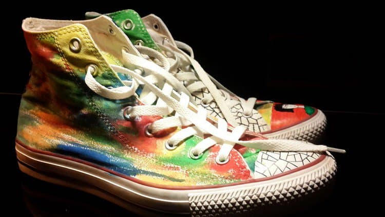 converse colorful sides