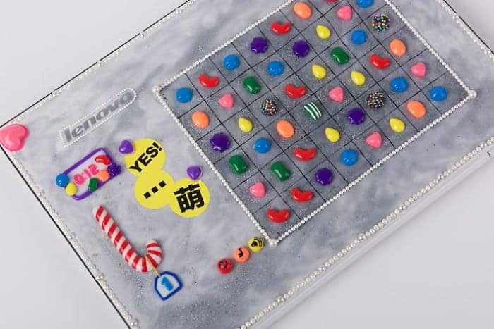 cover candy crush laptop