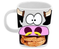cow biscuit mug