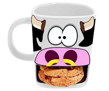 cow biscuit mug