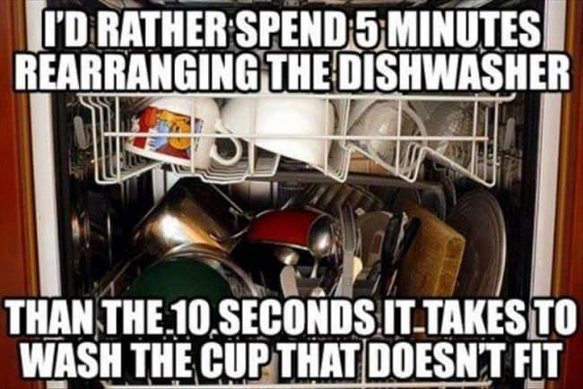 dish washing issues