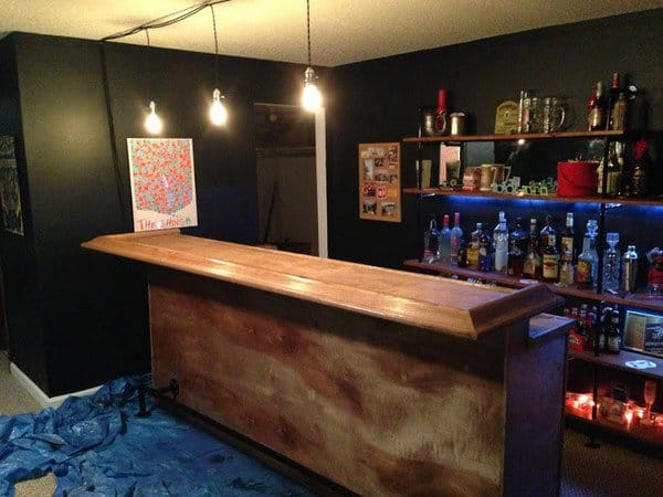 15 diy wooden furniture ideas to make your home look awesome Diy home bar design ideas