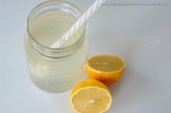 electrolyte lemon drink