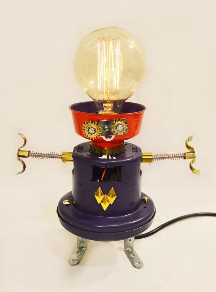 emily robot lamp