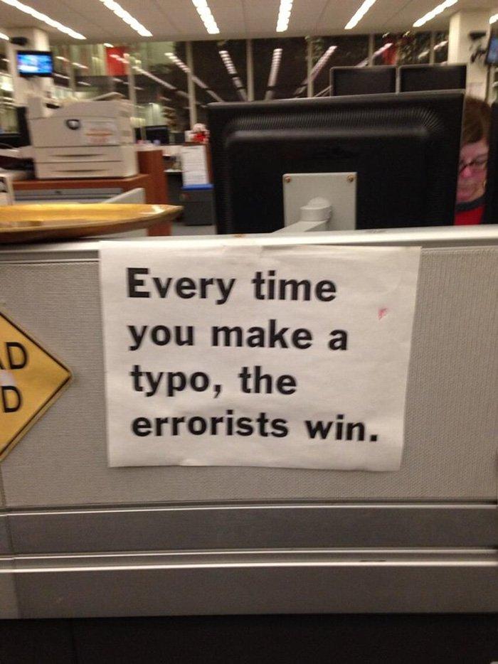 errorists win