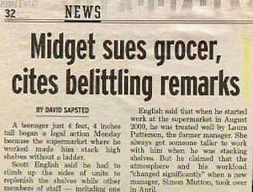 16 Newspaper Headlines That Were Unintentionally Funny