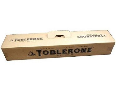 giant toblerone box