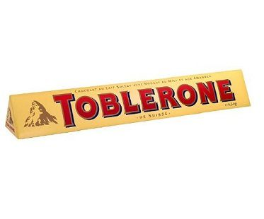 giant toblerone chocolate