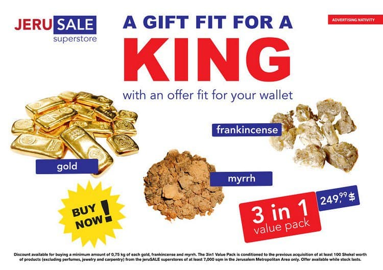gift for a king ad