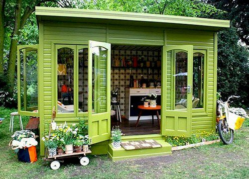 Tiny Home Designs: 12 Awesomely Chic She-Sheds You'll Want To Own