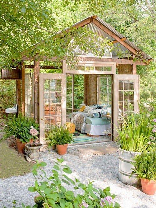 greenery shed