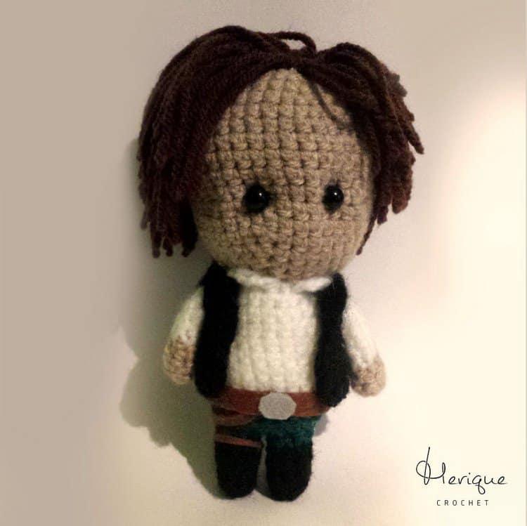 han solo crochet