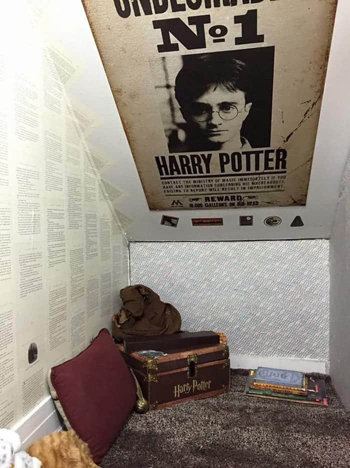harry potter stuff cupboard