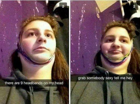headbands snapchat