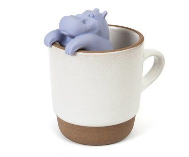 hippo tea infuser cup