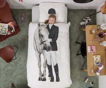 horse rider bedding set