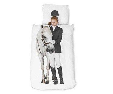horse rider bedding set sheets