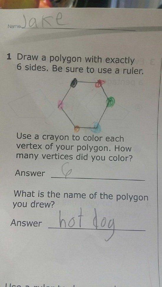 hot dog polygon