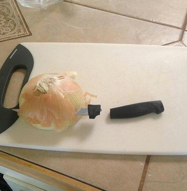 knife onion fail